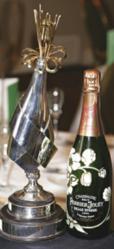 Champagne Oscars trophy