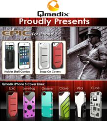Qmadix iPhone 5 Epic Cover