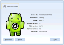 Android-Sync - Sync Droid with Outlook via USB