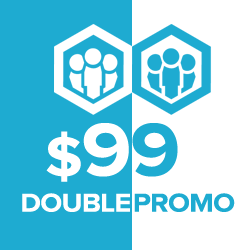 Buy Real Marketing doubles orders Worth $99 and above