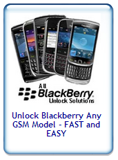 Unlock Blackberry curve series