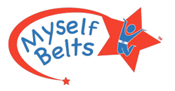 myself belts, one-handed closure, toddler belt, toddler belts, nickle-free belt, belts for toddlers