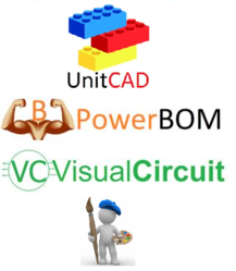 UnitCAD PowerBOM VisualCircuit Services Logo