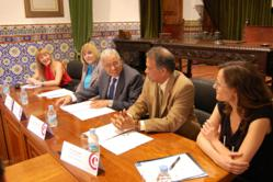 signing at the University of Salamanca