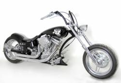 Demon's Cycle Custom Pro-Street Motorcycle for S.O.G Tattoo Jason Ackerman