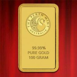 Authorised Bullion Dealer Offers Perth Mint Gold Bars at Lowest Price