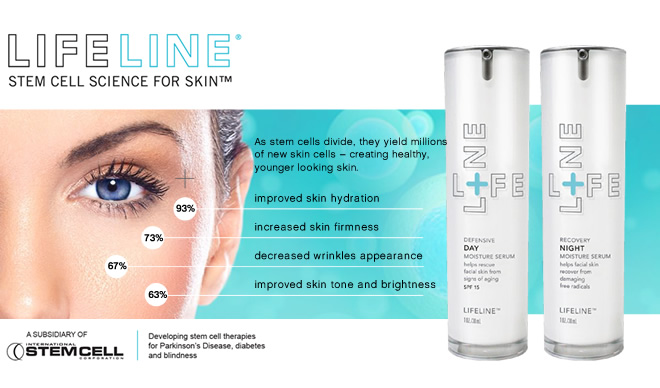 Blue Spa And Lifeline 174 Stem Cell Skin Care Pair Up To