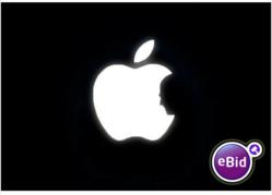 Customized Steve Jobs MacBook Pro Retina on eBid