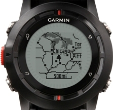 garmin fenix, mapping