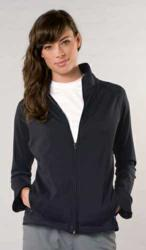 full zip sun protective jacket