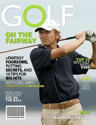 Personalized Golf Magazine Cover from YourCover