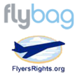 Flybags and FlyersRights.org Logos