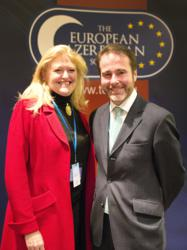 Laura Sandys MP and Christopher Pincher MP at the Conservative Party conference