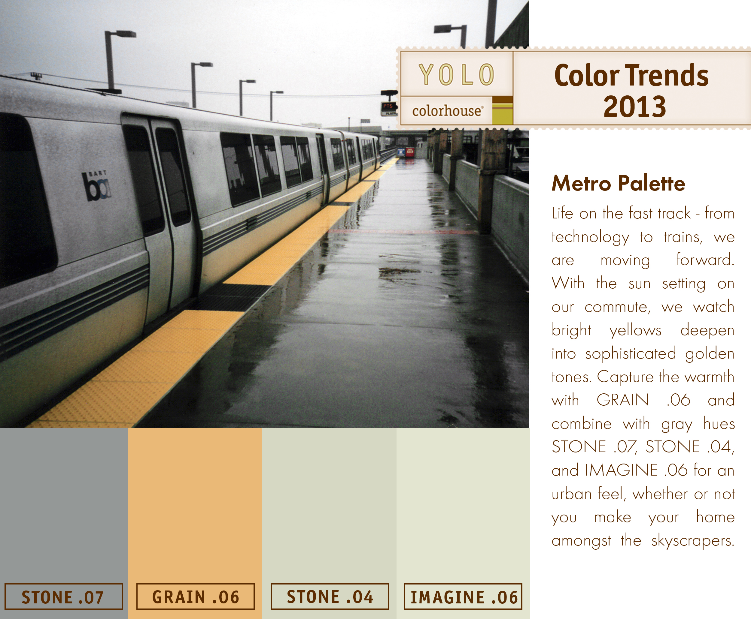 Yolo Colorhouse Metro Palettethis Color Palette Illustrates Life On The Fast Track Reminiscent Of A Big