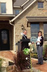 Austin green homes at Sweetwater get LEED certification.