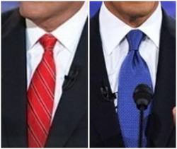 Red vs Blue: What Tie Color Will Win the Election