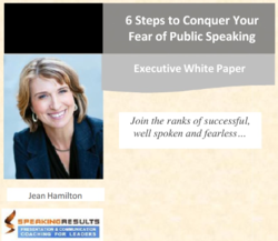Conquer Fear of Public Speaking