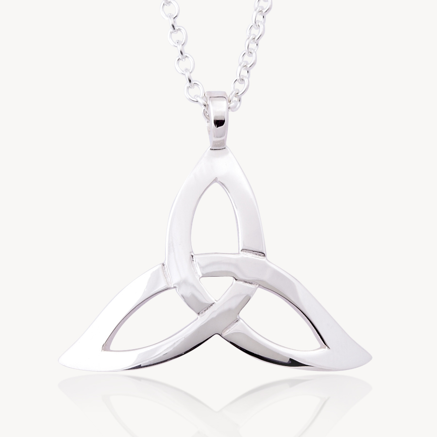 Celtic friendship symbol image collections symbol and sign ideas celtic knot meaning online irish jewelry store celtic promise curved trinity pendant by declan killencurved trinity buycottarizona