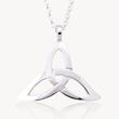 Trinity Pendant, Celtic knot pendant, celtic jewelry, irish jewelry, declan killen, celtic promise