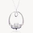 Claddagh pendant, celtic jewelry, celtic pendant, celtic promise, declan killen