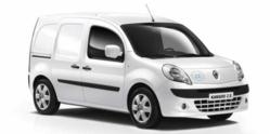A Renault Kangoo ZE