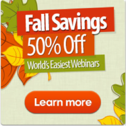 ClickWebinar Fall Promotion