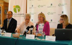 From left to right José Luque, CEO Fuerte Hoteles; Isabel García Bardón, President Grupo El Fuerte; Ángeles Muñoz, Mayor of Marbella y Natalí Ruiz, responsible of Fuerte Hotels RSC