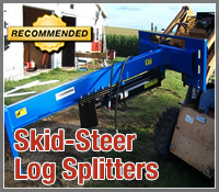 skid steer log splitter, skid steer log splitters, best skid steer log splitter, best skid steer log splitters