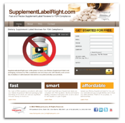 SupplementLabelRight.com