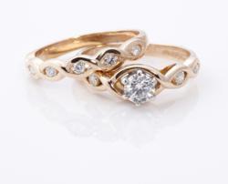 Celtic Engagement Ring, Celtic Wedding Ring, Irish Engagement Ring, Irish Wedding Ring, Celtic Promise