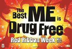The Best Me Is Drug Free:  Red Ribbon Week Contest 2012 Theme