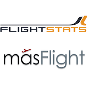 FlightStats and masFlight logos