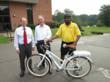 New Horizon Security Reviews Pedego Electric Bikes on DCC Campus