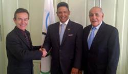 IOC Meets with Panamanian Government Representative