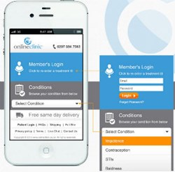 OnlineClinic mobile site
