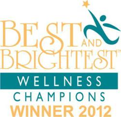 EMI - 2012 Best and Brightest Wellness Champion