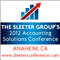 The Sleeter Group's 2012 Accounting Solutions Conference