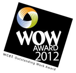 WCET Outstanding Work Award 2012