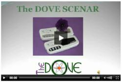 See the DoveScenar.com video for this energy healing device