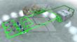 Custom system graphic development for Trane systems.