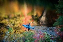 Fall foliage, canoes and color await at High Hampton Inn