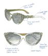 Nanette Lepore for Vogue Eyewear Sunglasses Sketch