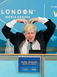Boris Johnson - 'Mobot'