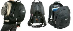 laptopbag with safety predator whistle