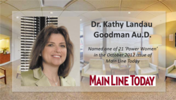 Dr. Kathy Landau Goodman - Founder of Mainline Audiology Consultants, PC