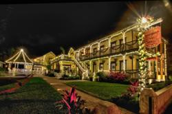 St. Augustine, bed and breakfast, holiday lights