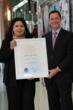 Humanitarian endeavors and contribution to Latin culture in the US awarded.