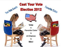 Seat Sack Color Election Giveaway