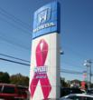 Smail Honda Village in Greensburg PA Turns Pink for a Purpsoe