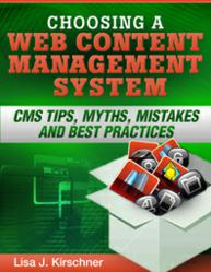 web cms ebook by Lisa Kirschner